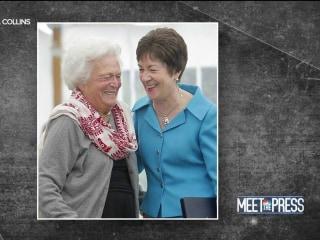 Collins: At Barbara Bush funeral, 'heartwarming' to see people 'putting away partisanship'