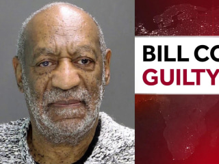 Bill Cosby is found guilty on all three counts