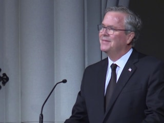 Jeb Bush on mother Barbara Bush: She was 'our role model'