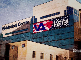Veteran posts stunning photos of Salt Lake City clinic exam room