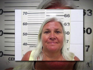 Grandmother accused of killing husband, look-alike captured
