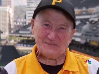 Special celebration for longtime Pittsburgh Pirates usher's 100th birthday