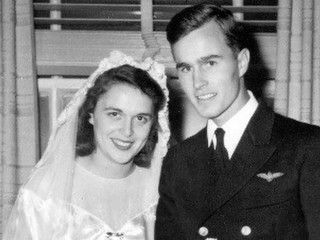 George and Barbara Bush's enduring love story