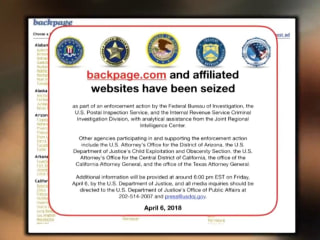 Classifieds site Backpage.com shut down by FBI