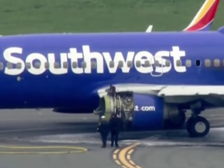 Southwest airlines cancels dozens of flights for engine inspections after deadly midair explosion