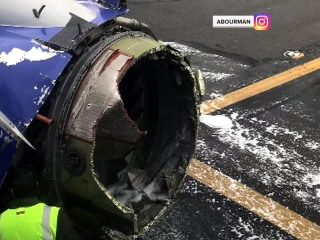 Engines inspected as details emerge about Southwest Airlines explosion