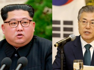 North, South Korean leaders set to meet with peace as the prize