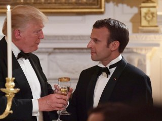 Trump hosts French President Emmanuel Macron for first state dinner