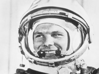 Yuri Gagarin became the first human in space, 57 years ago today