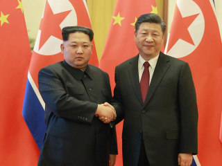 Kim Jong Un jets into China, seeks 'mutual trust with the U.S.'