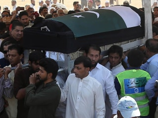 Family holds funeral for Pakistani teen slain in Santa Fe shooting