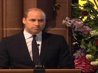 Prince William honors victims at one-year anniversary of Ariana Grande concert attack