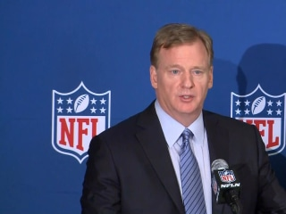 Goodell: 'We want people to be respectful of the national anthem'