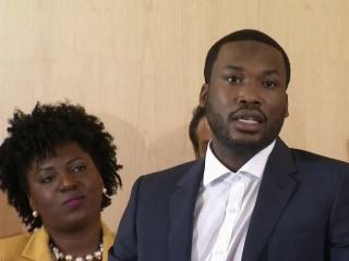 Rapper Meek Mill calls for criminal justice reform