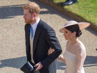 Watch Prince Harry and Meghan Markle make first appearance since wedding