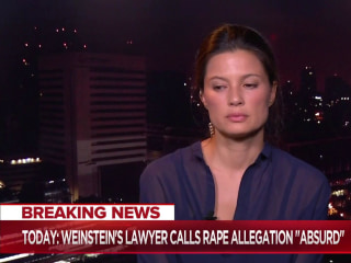 Weinstein accuser: Hollywood's 'pure violence' against women