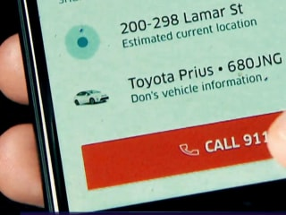 Uber unveils new 911 button