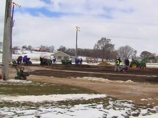 Volunteers rebuild 'Field of Dreams' after it was vandalized