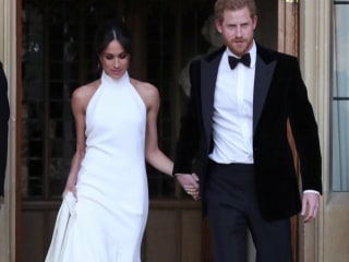 Prince Harry and Meghan Markle celebrate with private reception after wedding