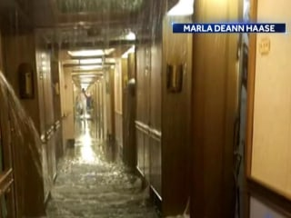 Carnival Cruise ship returns to port after water line break