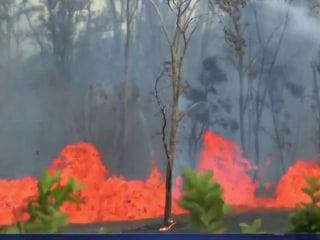 One injured as Kilauea volcano destruction continues