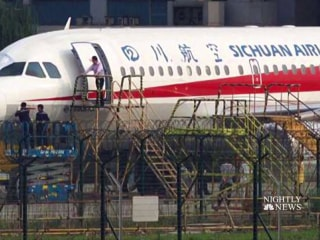 Sichuan Airlines co-pilot nearly sucked out cockpit window