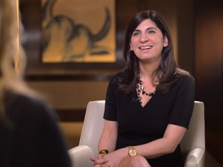 New York Stock Exchange's first female president starts her first day
