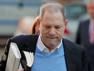 Harvey Weinstein surrenders to authorities in New York City