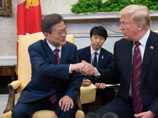 Trump meets with South Korea's Moon Jae-in: Will Kim Jong Un summit happen?