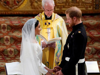 Royal Wedding: Prince Harry, Meghan exchange vows