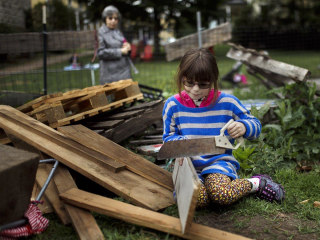 No parents allowed: Inside New York City's riskiest playground