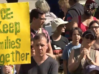 Protesters rally across country against family separations at U.S.-Mexico border