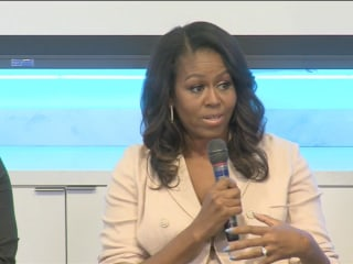 Michelle Obama offers advice to college-bound students: 'Don't do this in isolation'