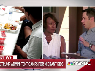 First look inside Trump admin. tent camps for migrant children