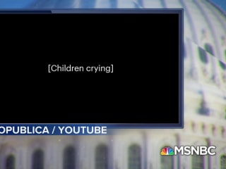 Children heard crying in obtained audio of migrant detention center