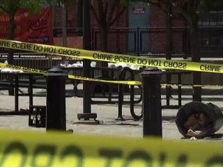 At least 20 injured after gunfire erupts at New Jersey art festival