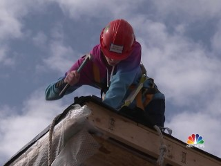 'Geometry in Construction' helps students learn by building houses