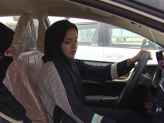 Saudi women prepare to get behind the wheel as driving ban comes to an end