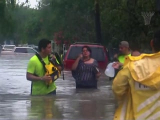 Parts of Texas submerged after heavy rain triggers flash floods