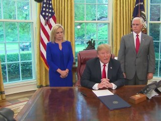 Trump orders end to policy separating migrant families who enter U.S. illegally