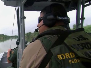 Federal authorities confront smugglers trying to enter the U.S. illegally