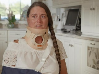 Victim of amusement park ride derailment in Florida speaks out for the first time