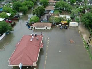 Heavy rain in Texas prompts flash flood emergencies