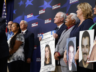 Trump addresses families who lost children to crimes by undocumented immigrants
