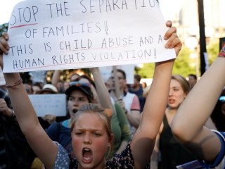 Protests against Trump's family separation policy held around the U.S.