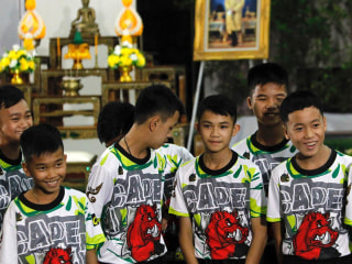 Thai soccer boys speak out after dramatic rescue from flooded cave