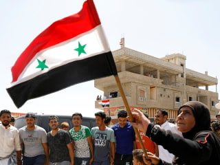 Syrian government military push sends refugees fleeing to Jordanian border