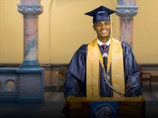 Valedictorian speaks at Rochester City Hall after high school denies him graduation speech