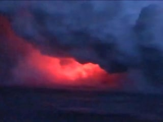 'Lava bomb' showers Hawaii tour boat with molten rock, injuring more than 20