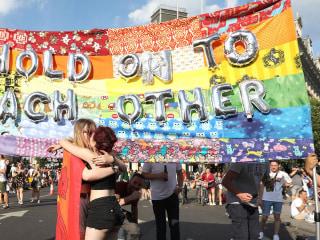 A riot of color for Pride Festival in London
